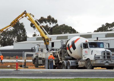 Bull Bros Earthmoving OTR On The Run Naracoorte Holcim Concrete